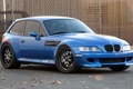 Картинка синий, фон, тюнинг, купе, BMW, БМВ, Coupe