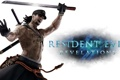 Картинка Biohazard: Revelations, Resident Evil: Revelations, Keith Lumley, тату, Resident Evil, ninja, меч