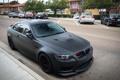 Картинка BMW, Black, E92, Matte