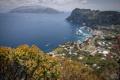Картинка море, горы, остров, бухта, Италия, Анакапри, Кампания