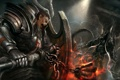 Картинка crusader, malthael, reaper of souls, diablo 3