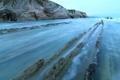 Картинка море, небо, камни, скалы, отлив