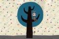 Картинка чудик, Kim Hana, дерево