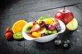 Картинка grape, клубника, виноград, апельсин, orange, фрукты, яблоко