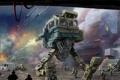 Картинка война, роботы, арт, солдаты, war, инопланетяне, вар