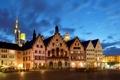 Картинка город, фото, Германия, Frankfurt, Romerberg