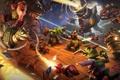Картинка гномы, гоблины, blizzard, art, hearthstone, Hearthstone: Heroes of Warcraft, Hearthstone: Goblins Vs. Gnomes