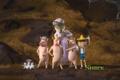 Картинка мультфильм, шрек 4, свиньи, волчица, няня