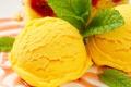 Картинка мороженое, десерт, листики мяты