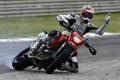 Картинка поворот, занос, 1100, Hypermotard, вираж, мотоцикл, bike