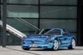 Картинка Авто, Синий, Mercedes, Mercedes Benz, AMG, SLS, Хром
