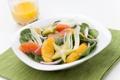 Картинка лук, апельсин, orange, зелень, salad, салат, onions