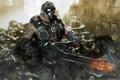 Картинка постапокалипсис, Gears of War, Clayton Carmine