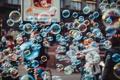 Картинка цвета, макро, люди, улица, Пузыри, мыло