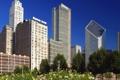 Картинка америка, чикаго, Illinois, Chicago, Skyline, Millennium Park, сша