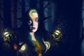 Картинка эльф, wow, world of warcraft, night elf, друид, druid, ночная эльфийка