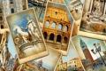 Картинка винтаж, статуи, улицы, памятники, старые фотографии, колизей, vintage