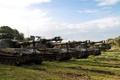 Картинка поле, установки, (САУ), самоходные, M109, артиллерийские