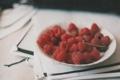 Картинка малина, тарелка, страницы