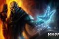 Картинка оружие, сила, Mass Effect, dlc, Турианец, Гаррус Вакариан, биотик