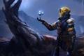 Картинка костюм, шлем, броня, Bungie, Destiny, Warlock