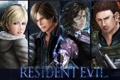 Картинка biohazard, art, персонажи, Обитель зла, Resident Evil 6, Leon Scott Kennedy, Helena Harper