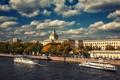 Картинка река, москва, Russia, набережная
