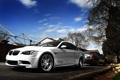Картинка белый, BMW, lincoln