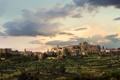 Картинка Italy, панорама, Италия, Tuscany, Тоскана, Монтиси, Montisi