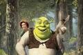 Картинка лес, принцесса, улыбки, шрек, осел, Shrek