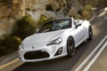 Картинка Concept, Машина, Скорость, Кабриолет, Белая, FT-86, Toyota