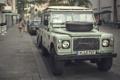 Картинка машина, авто, улица, автомобиль, Gnarly Land Rover