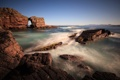 Картинка море, волны, природа, скалы