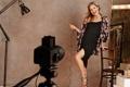 Картинка фотосессия, Kate Hudson, чёрное платье