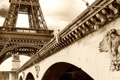 Картинка мост, Франция, Париж, Эйфелева башня, paris, france, Eiffel Tower