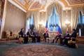 Картинка россия, президенты, сша, белый дом, Barack Obama, Dmitry Medvedev