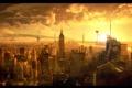 Картинка конец света, война миров, нью-йорк, инопланетяне, графика
