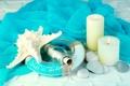 Картинка камни, starfish, summer, bottle, candles, marine, свечи
