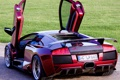 Картинка Lamborghini, Murcielago, открытые двери, задняя часть, Ламбо-двери, LP640, JB Car Design