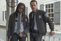 Картинка The Walking Dead, Ходячие мертвецы, Andrew Lincoln, Danai Gurira, Рик Граймс, Мишонн