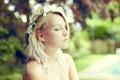 Картинка девушка, свет, портрет