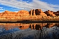 Картинка пейзаж, United States, река, горы, Moab, Utah