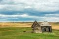 Картинка пейзаж, поле, дом