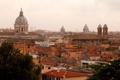 Картинка город, фото, дома, Италия, сверху, Rome