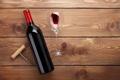 Картинка wine, floor, bottle, corkscrew