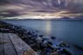 Картинка море, ночь, беоег