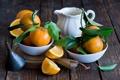 Картинка цитрусы, дольки, мандарины
