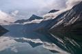 Картинка облака, горы, озеро, отражение, Норвегия, Norway