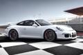Картинка разметка, трасса, 911, Porsche, суперкар, порше, GT3