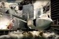 Картинка город, самолёты, tom clancy hawx
